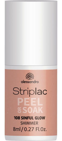 Striplac Peel or Soak 108 Sinful Glow