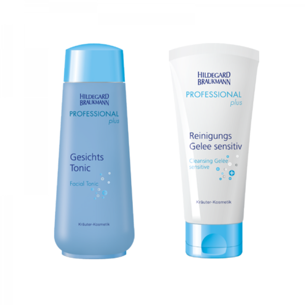 Professional Gesichts Tonic + Reinigungs Gelee sensitive