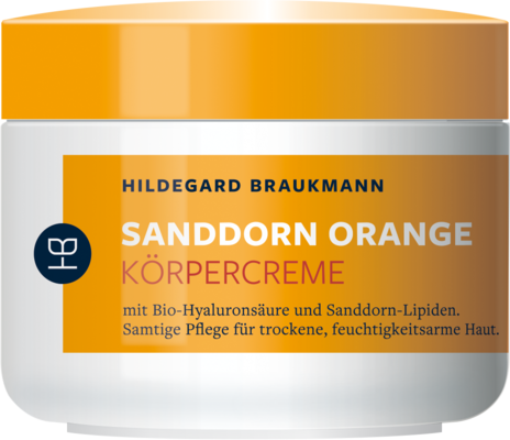 Sea Buckthorn Orange Body Cream