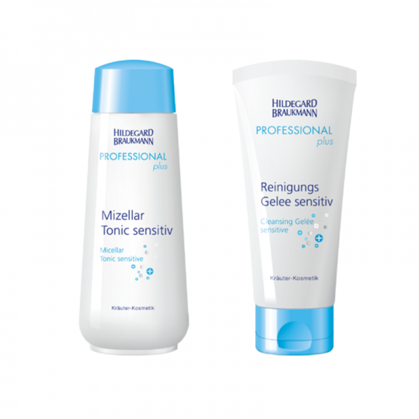 Professional Mizellar Tonic Sensitiv + Reinigungs Gelee sensitive