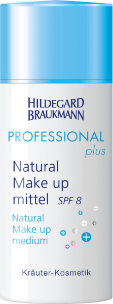 Natural Make up SPF 8 mittel