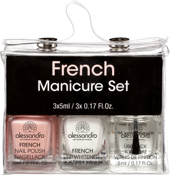 French Manicure 3er Set Mini
